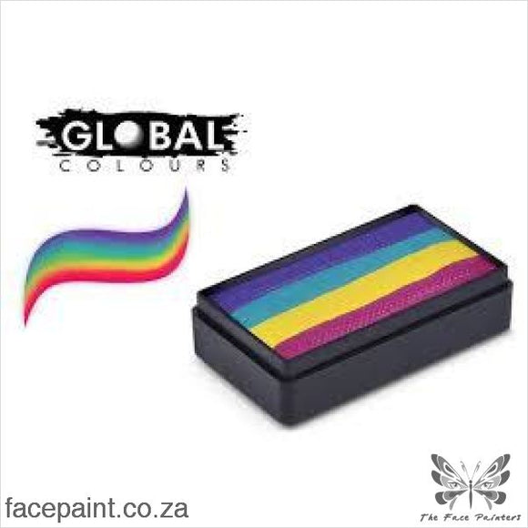 Global Face Paint Split Cake Fun Stroke Ibiza Paints