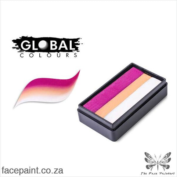 Global Face Paint Split Cake Fun Stroke Kalahari Paints