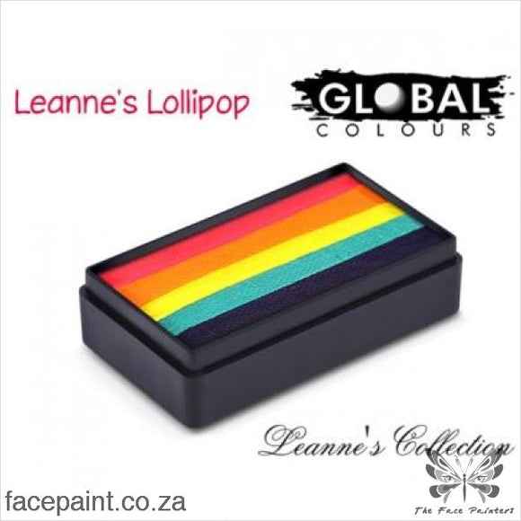 Global Face Paint Split Cake Fun Stroke Leannes Lollipop Paints