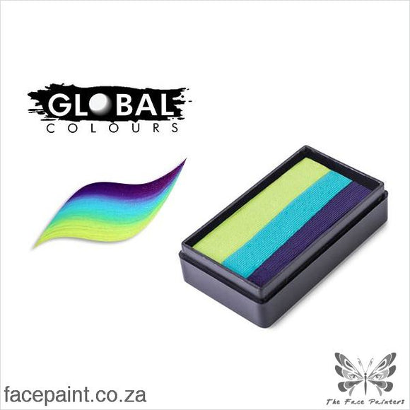 Global Face Paint Split Cake Fun Stroke London Paints