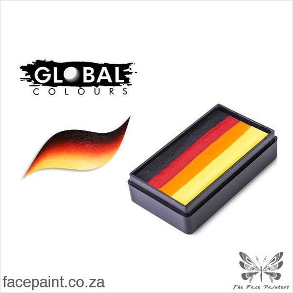 Global Face Paint Split Cake Fun Stroke Mexico Paints