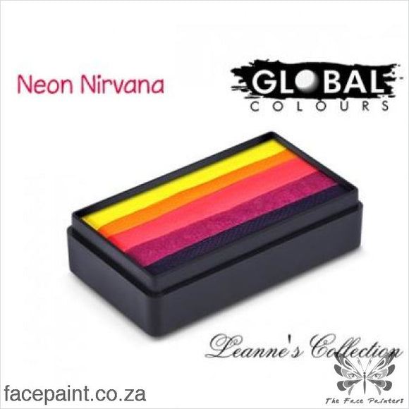 Global Face Paint Split Cake Fun Stroke Neon Nirvana Paints