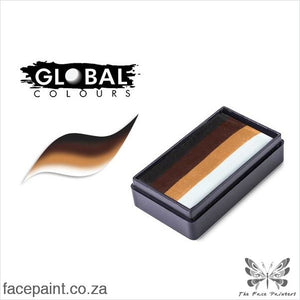 Global Face Paint Split Cake Fun Stroke New Sahara Paints
