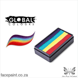 Global Face Paint Split Cake Fun Stroke New York Paints