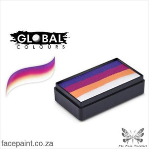 Global Face Paint Split Cake Fun Stroke Rio Paints