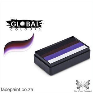 Global Face Paint Split Cake Fun Stroke Sahara Paints