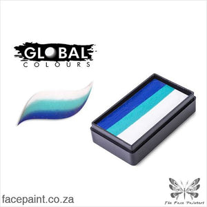 Global Face Paint Split Cake Fun Stroke Santorini Paints