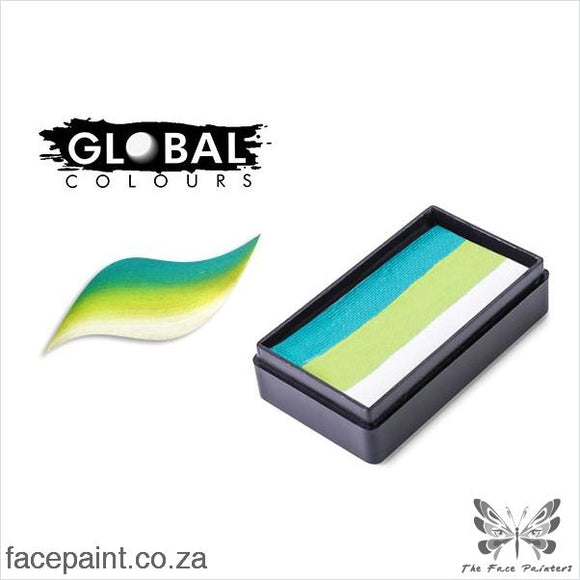 Global Face Paint Split Cake Fun Stroke Seychelles Paints