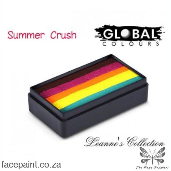 Global Face Paint Split Cake Fun Stroke Summer Crush Paints