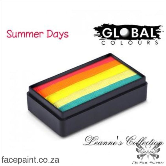 Global Face Paint Split Cake Fun Stroke Summer Days Paints