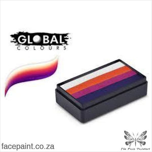 Global Face Paint Split Cake Fun Stroke Sydney Paints
