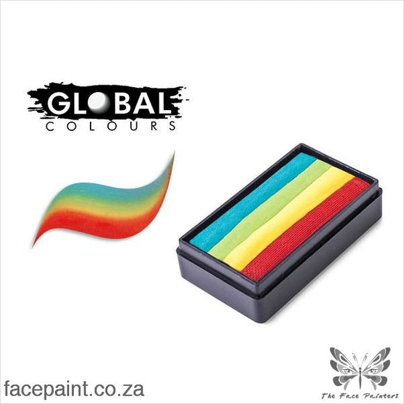 Global Face Paint Split Cake Fun Stroke Zanzibar Paints