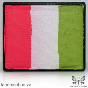Global Face Paint Split Cake Rainbow Bahamas Paints
