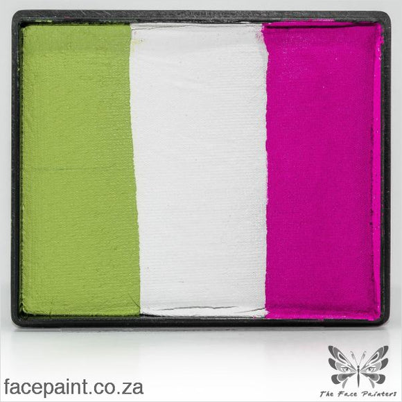Global Face Paint Split Cake Rainbow Dubai Paints