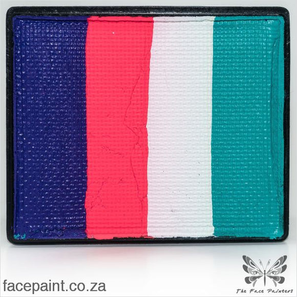 Global Face Paint Split Cake Rainbow Holland Paints