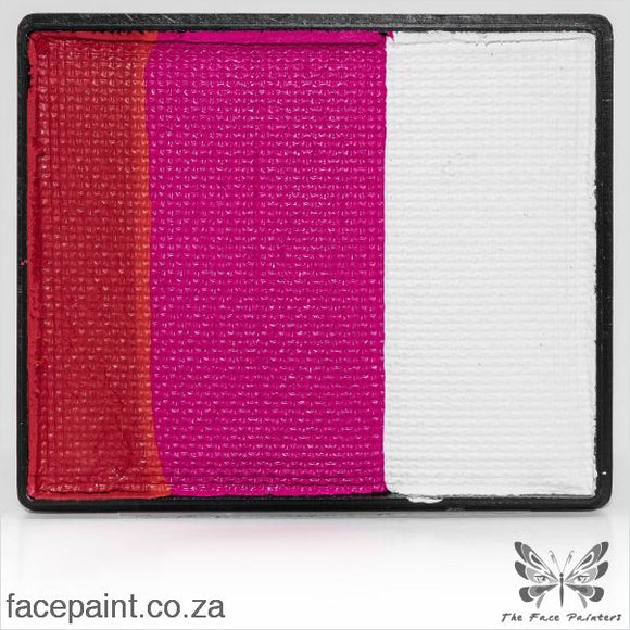 Global Face Paint Split Cake Rainbow Japan Paints