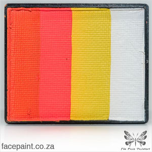 Global Face Paint Split Cake Rainbow Kenya Paints
