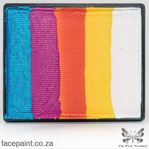 Global Face Paint Split Cake Rainbow Maui Paints