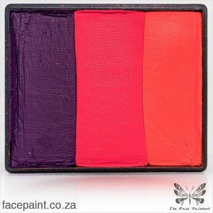 Global Face Paint Split Cake Rainbow Morocco Paints