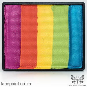Global Face Paint Split Cake Rainbow New Delhi Paints