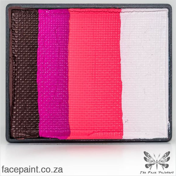 Global Face Paint Split Cake Rainbow Norway Paints