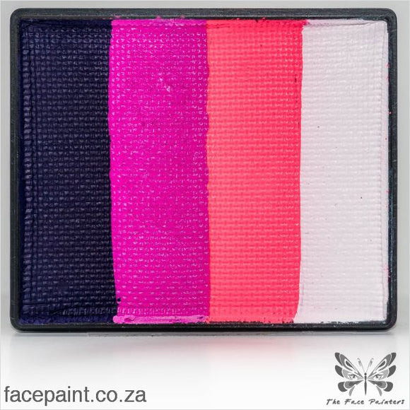 Global Face Paint Split Cake Rainbow Oxford Paints