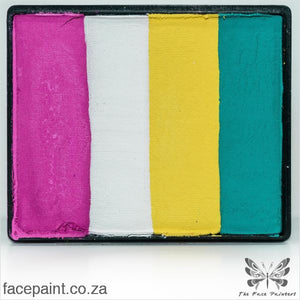 Global Face Paint Split Cake Rainbow San Francisco Paints