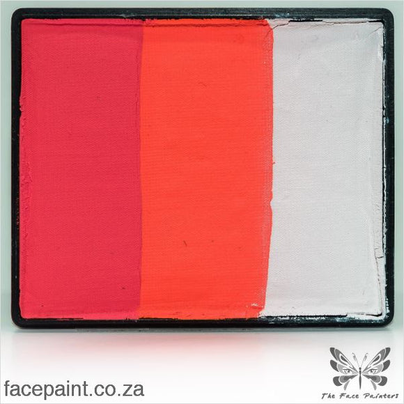 Global Face Paint Split Cake Rainbow Shanghai Paints