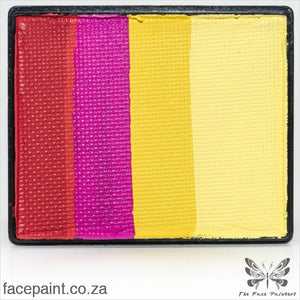 Global Face Paint Split Cake Rainbow Spain Paints