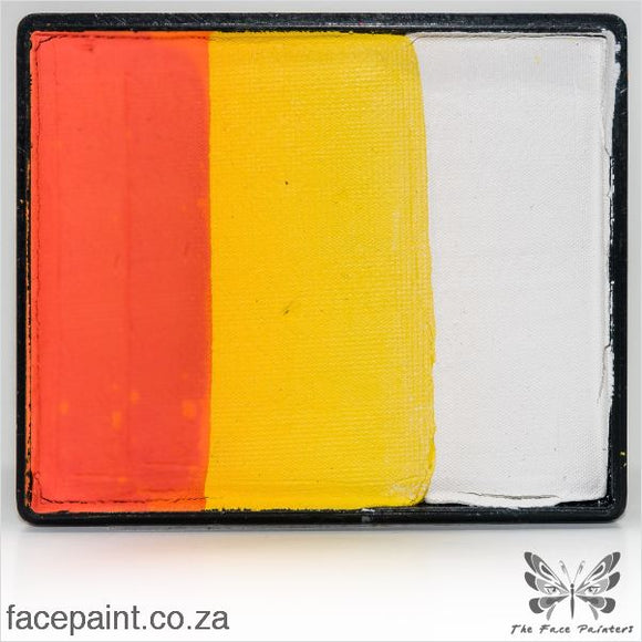 Global Face Paint Split Cake Rainbow Vienna Paints