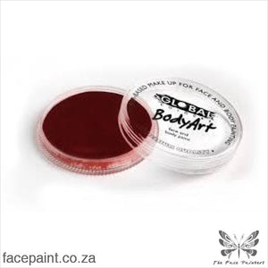 Global Face Paint Standard Deep Merlot Paints