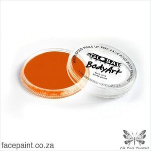 Global Face Paint Standard Orange Paints