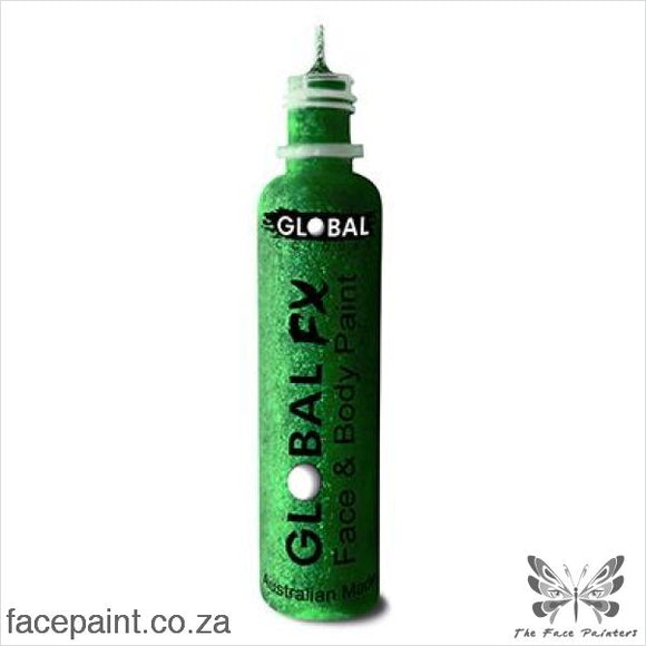 Global Fx Glitter Gel Emerald Green
