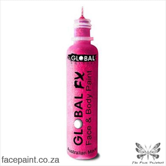 Global Fx Glitter Gel Iridescent Pink