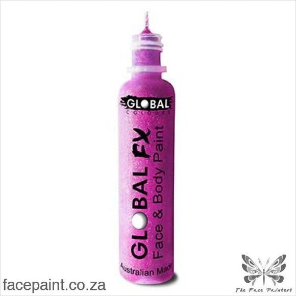 Global Fx Glitter Gel Neon Purple