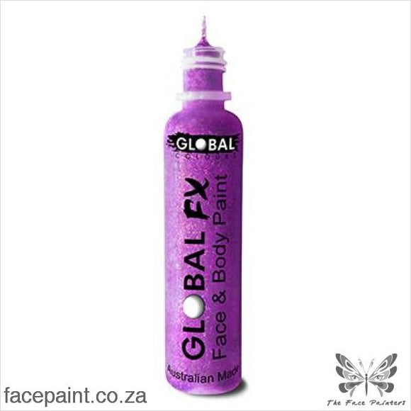 Global Fx Glitter Gel Purple
