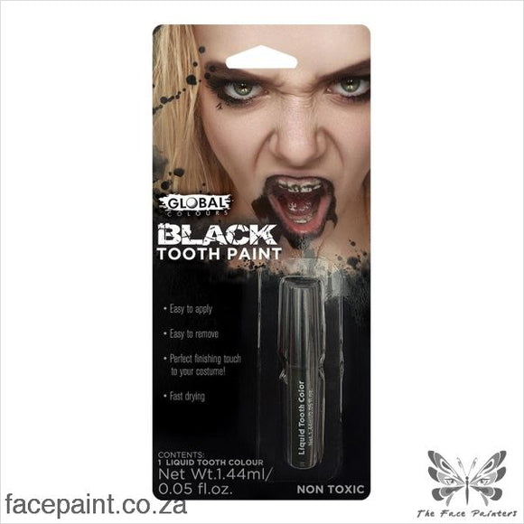 Global Special Fx Blood Tooth Paint Black Sfx Effects