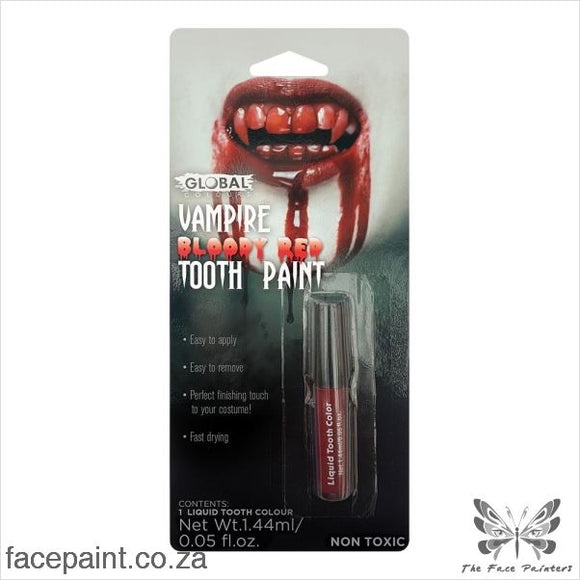 Global Special Fx Blood Tooth Paint Red Sfx Effects