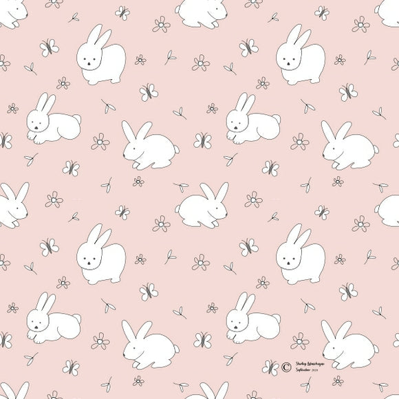 FABArt Custom Print Fabric - Showcase SA Designer Shirley Labuschagne - Kids 03 Bunnies