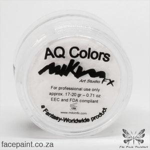 Mikim Fx Face Paint F01 White Paints