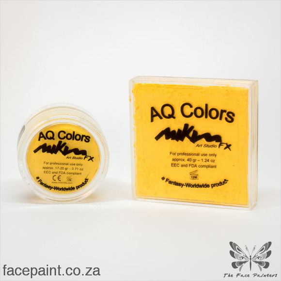 Mikim Fx Face Paint F02 Lemon Paints