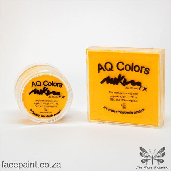 Mikim Fx Face Paint F03 Yellow Paints
