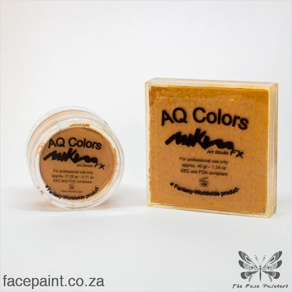 Mikim Fx Face Paint F04 Ochre Paints