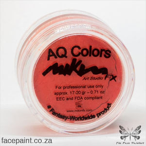 Mikim Fx Face Paint F05 Orange Paints