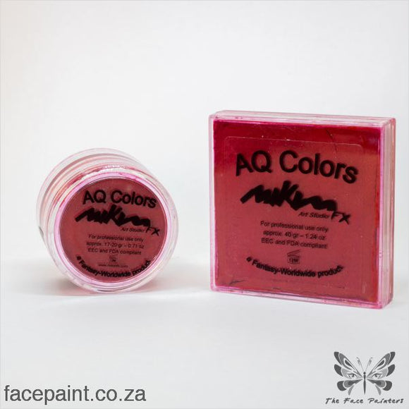 Mikim Fx Face Paint F08 Cold Red Paints