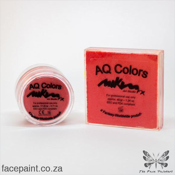 Mikim Fx Face Paint F09 Warm Red Paints