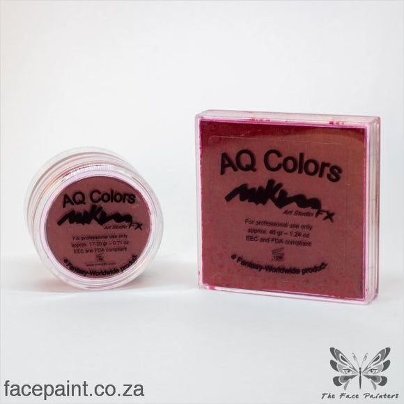 Mikim Fx Face Paint F10 Dark Red Paints