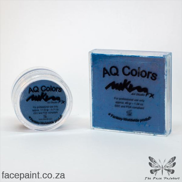 Mikim Fx Face Paint F15 Blue Paints