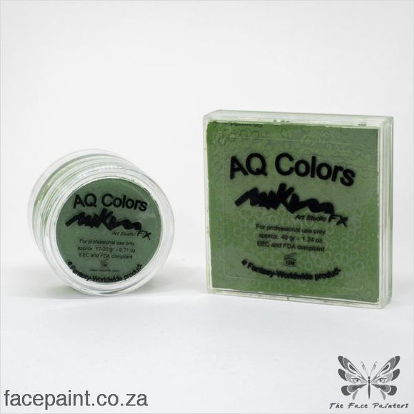 Mikim Fx Face Paint F20 Dark Green Paints
