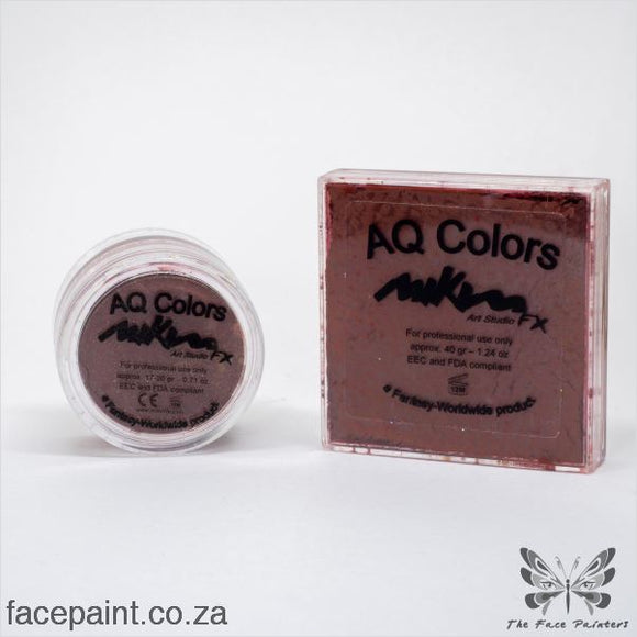 Mikim Fx Face Paint F22 Red Brown Paints